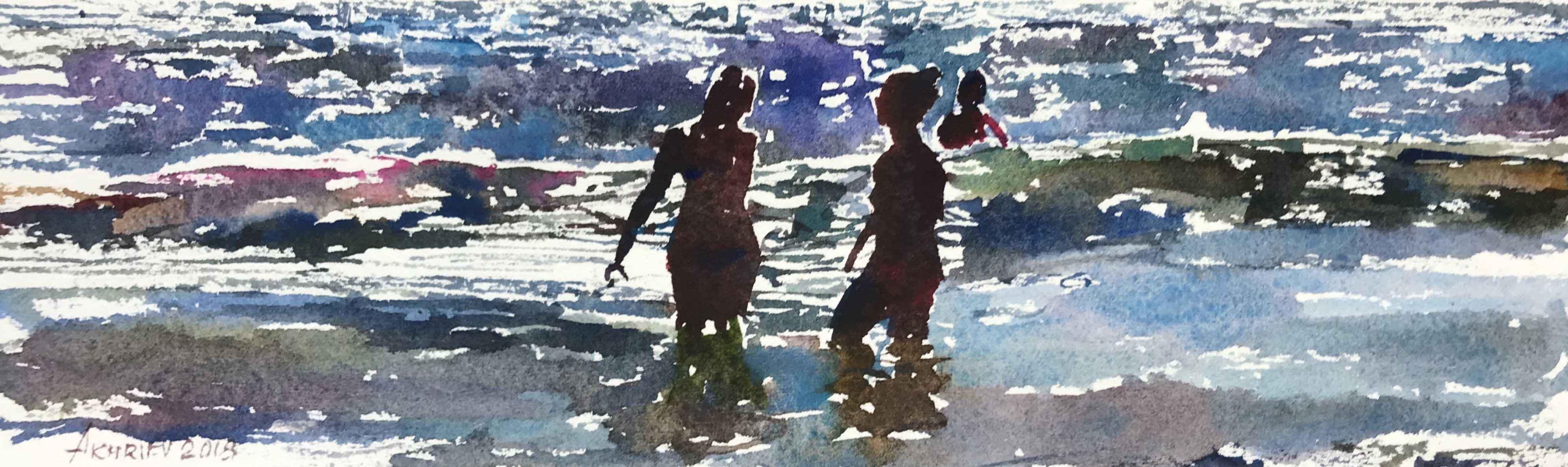 Beach Series XII