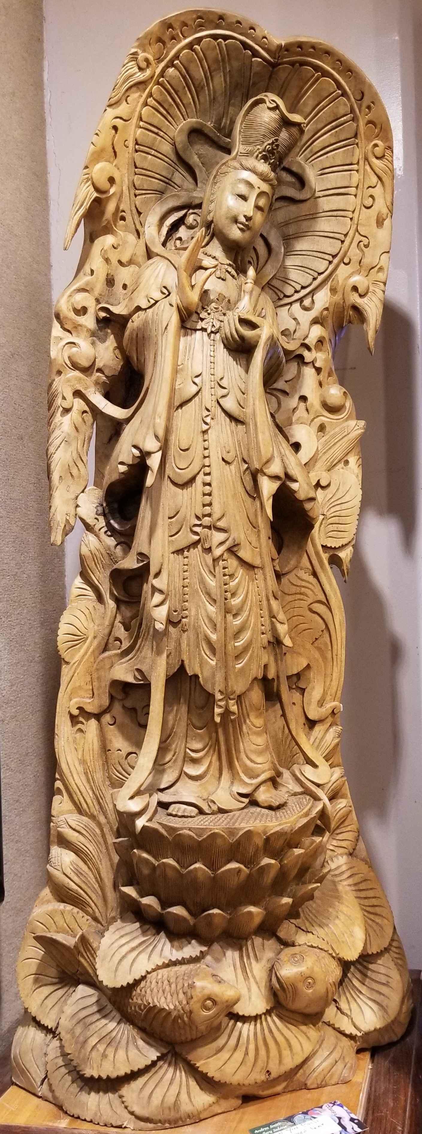 Kuan Yin Sculpture