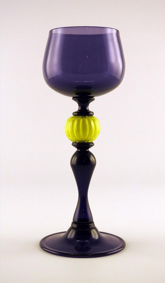 Goblet/Purple & Yellow