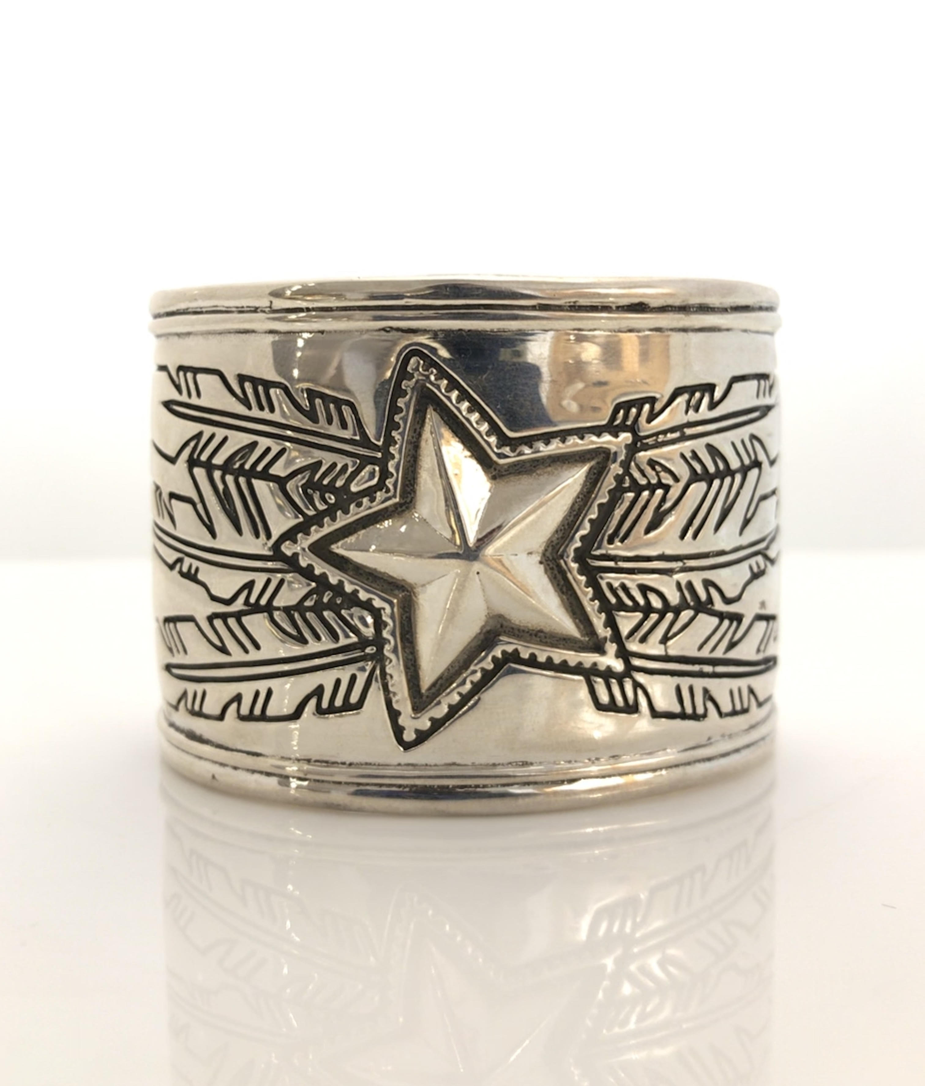 2 Inch Star Feather C...