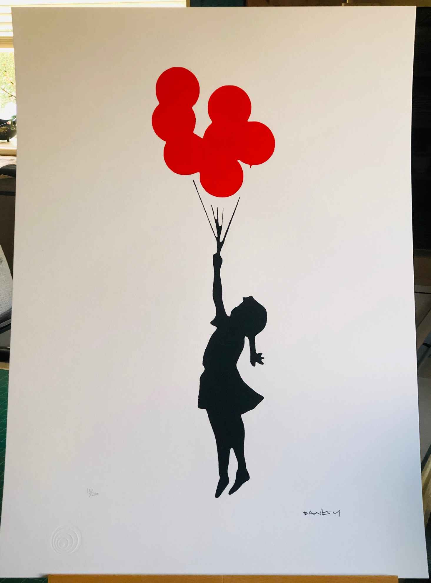 Flying Balloon Girl (...
