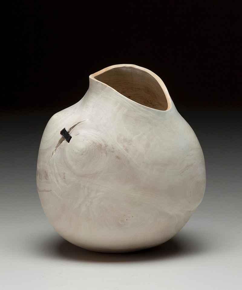 Small White Pot