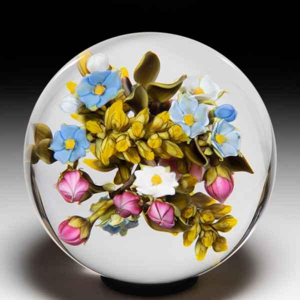 David Graeber 2019 'Cocktail Tree' citrus medley orb. by David Graeber