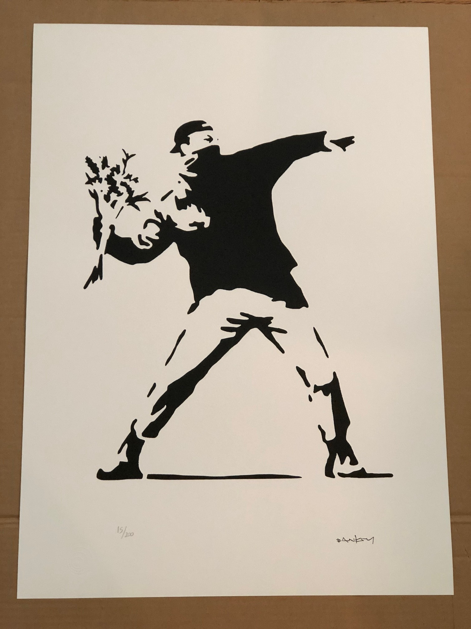 Flower Thrower, Black...