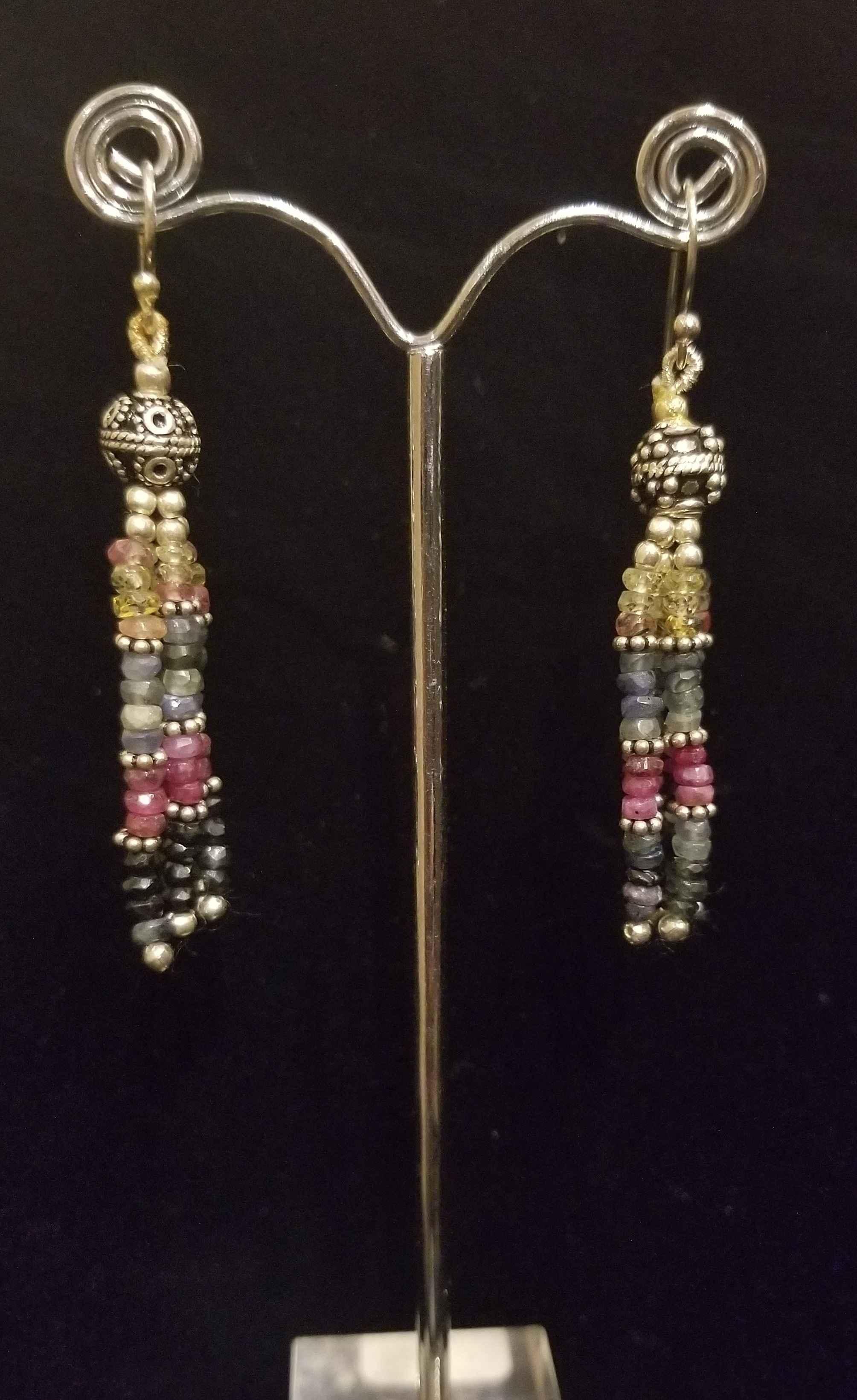 Earrings - Multi Gems...