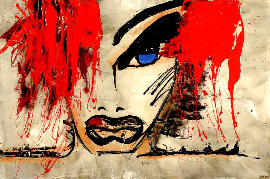 Giclee les yeux