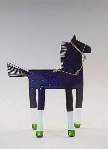 Dichroic Horse