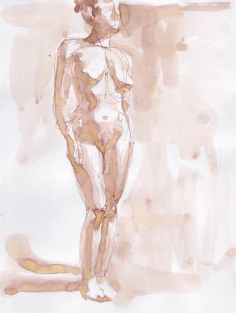 Figure Sketch: 9