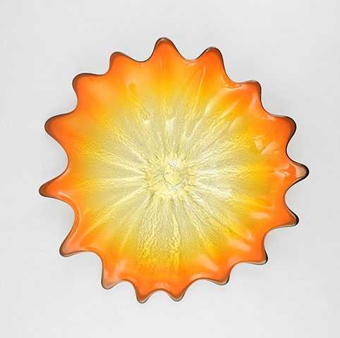 Platter/Tangerine