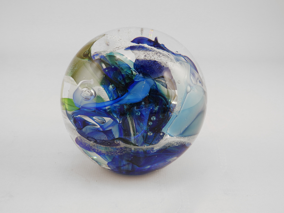 Paperweight/Blue