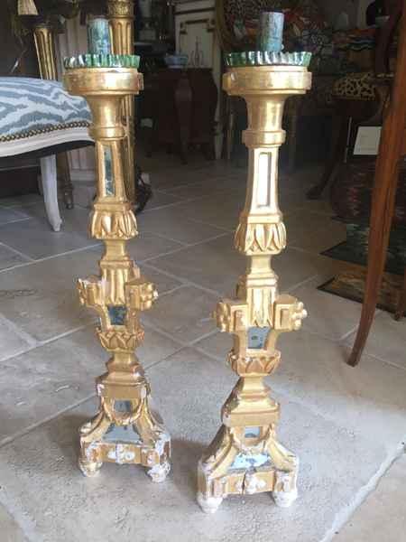 Pair of Pricket Sticks