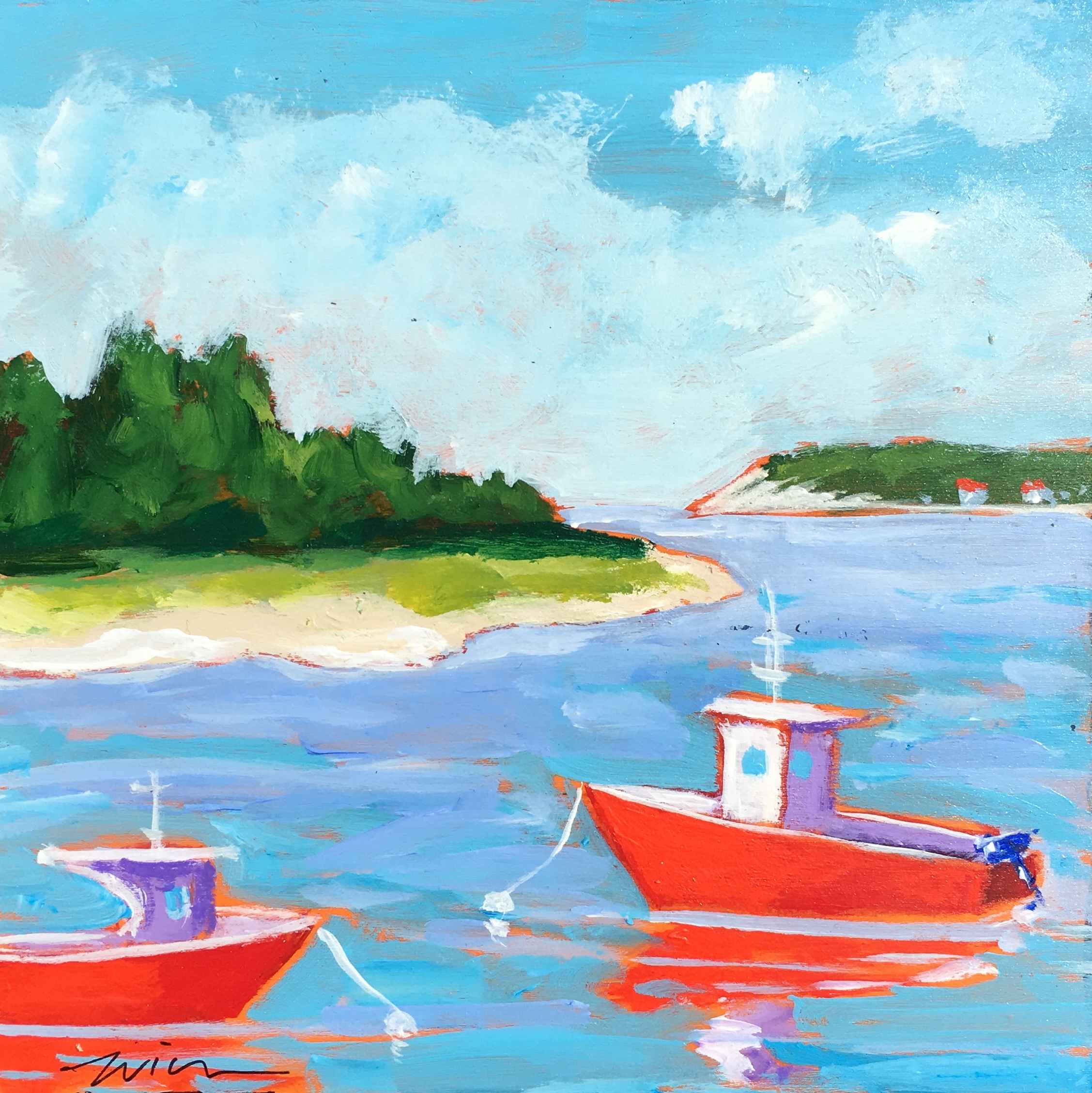 Lobster boats M.V.