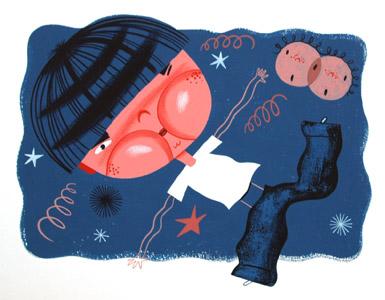 Harrys Big Cheeks by  Chris Pyle - Masterpiece Online