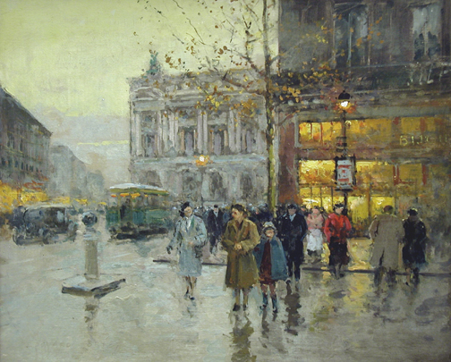 L' Opera by  Edouard  Cortes  - Masterpiece Online