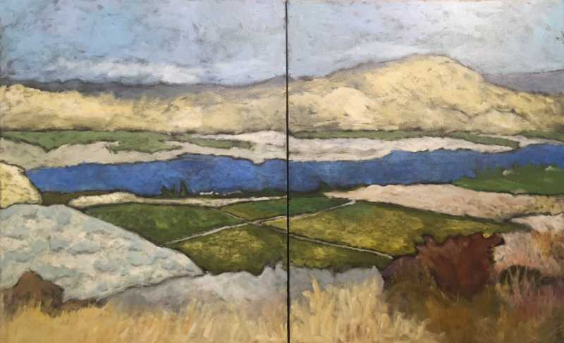 Valleyview, Osoyoos, ... by  Tracy Turcotte - Masterpiece Online