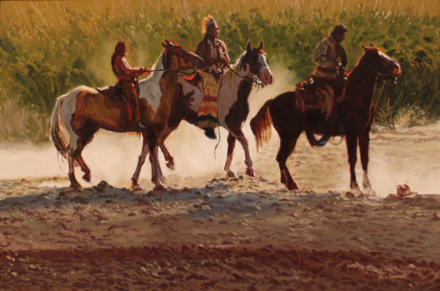 SOLD- Dusty Dawn by  Glen Edwards - Masterpiece Online