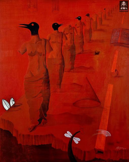 ENIGMATIC SCAPE by Mr. ANTONIO GUERRERO - Masterpiece Online