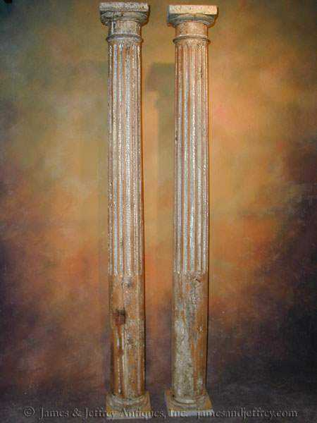 Pair of Columns by  Italian  - Masterpiece Online