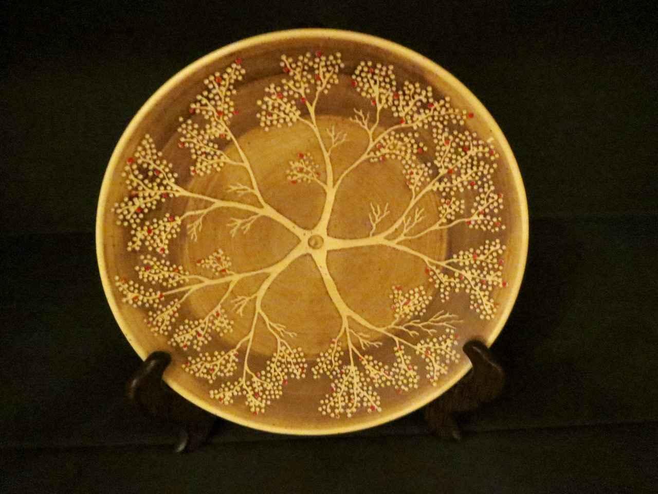 Carved Five Ohia Tree... by Ms. Birgitta Frazier - Masterpiece Online