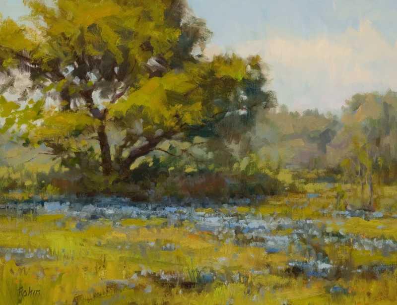 Spring Blue by Mr Bob Rohm - Masterpiece Online
