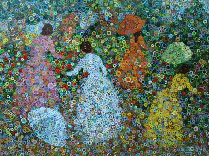 Spring in the Garden  by  Marcio Diaz