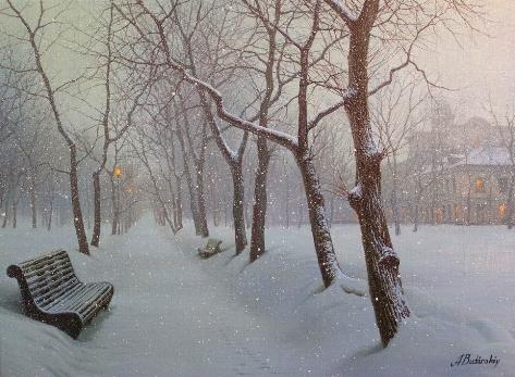 December's Song by  Alexei Butirskiy - Masterpiece Online