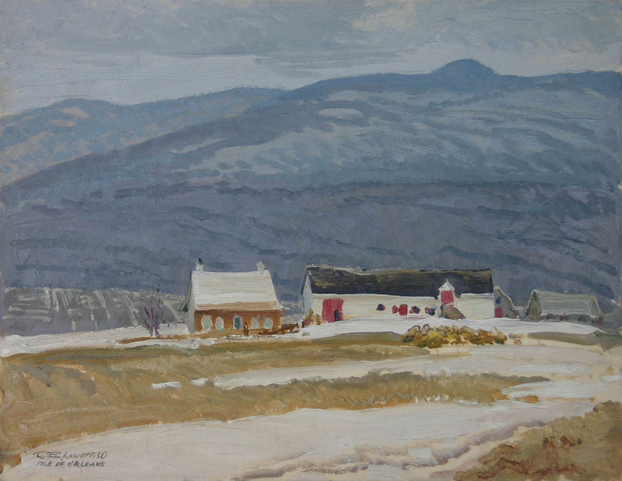 Isle D'Orleans by  Robert Lougheed - Masterpiece Online