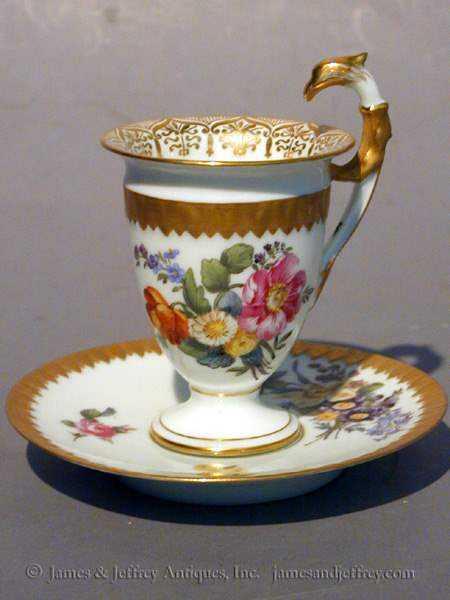 Dresden Porcelain Cup... by  German  - Masterpiece Online