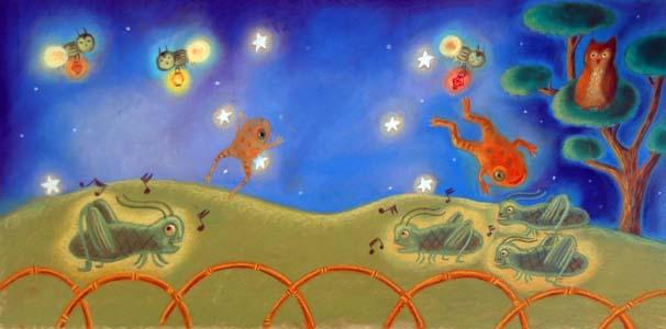 Night In The Garden by  Mercedes Mcdonald - Masterpiece Online