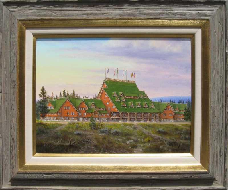 Old Faithful Inn by  R .C. Jones - Masterpiece Online