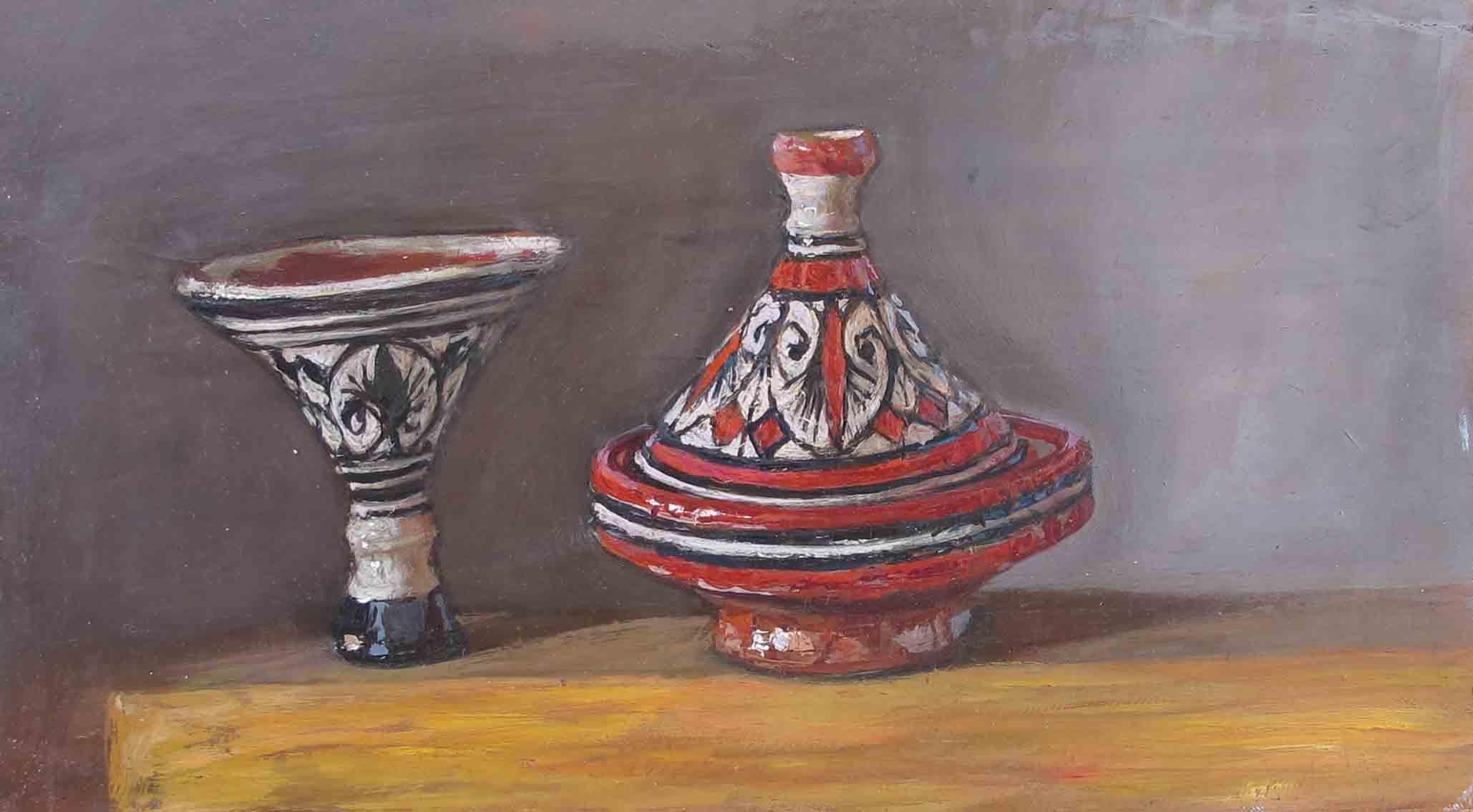 Small Tagines by  Daud Akhriev - Masterpiece Online