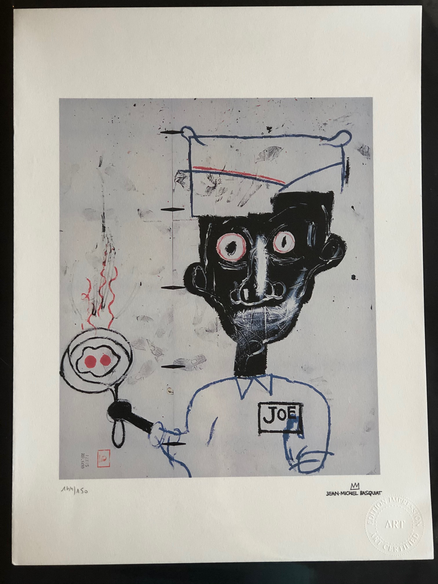 Eyes and Eggs by  Jean-Michel Basquiat - Masterpiece Online