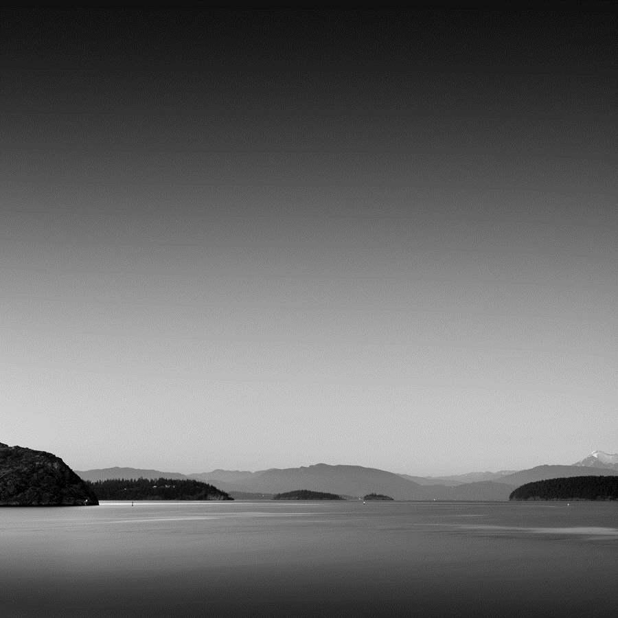 Twilight, Puget Sound...