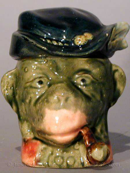 Majolica Monkey by   English - Masterpiece Online