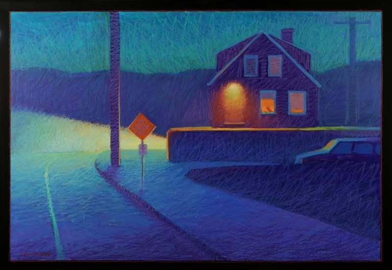 Where the Sidewalk En... by  Gigi Horr Liverant - Masterpiece Online