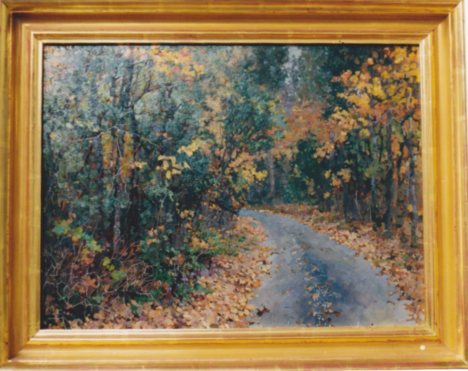 A Country Road by  Daud Akhriev - Masterpiece Online