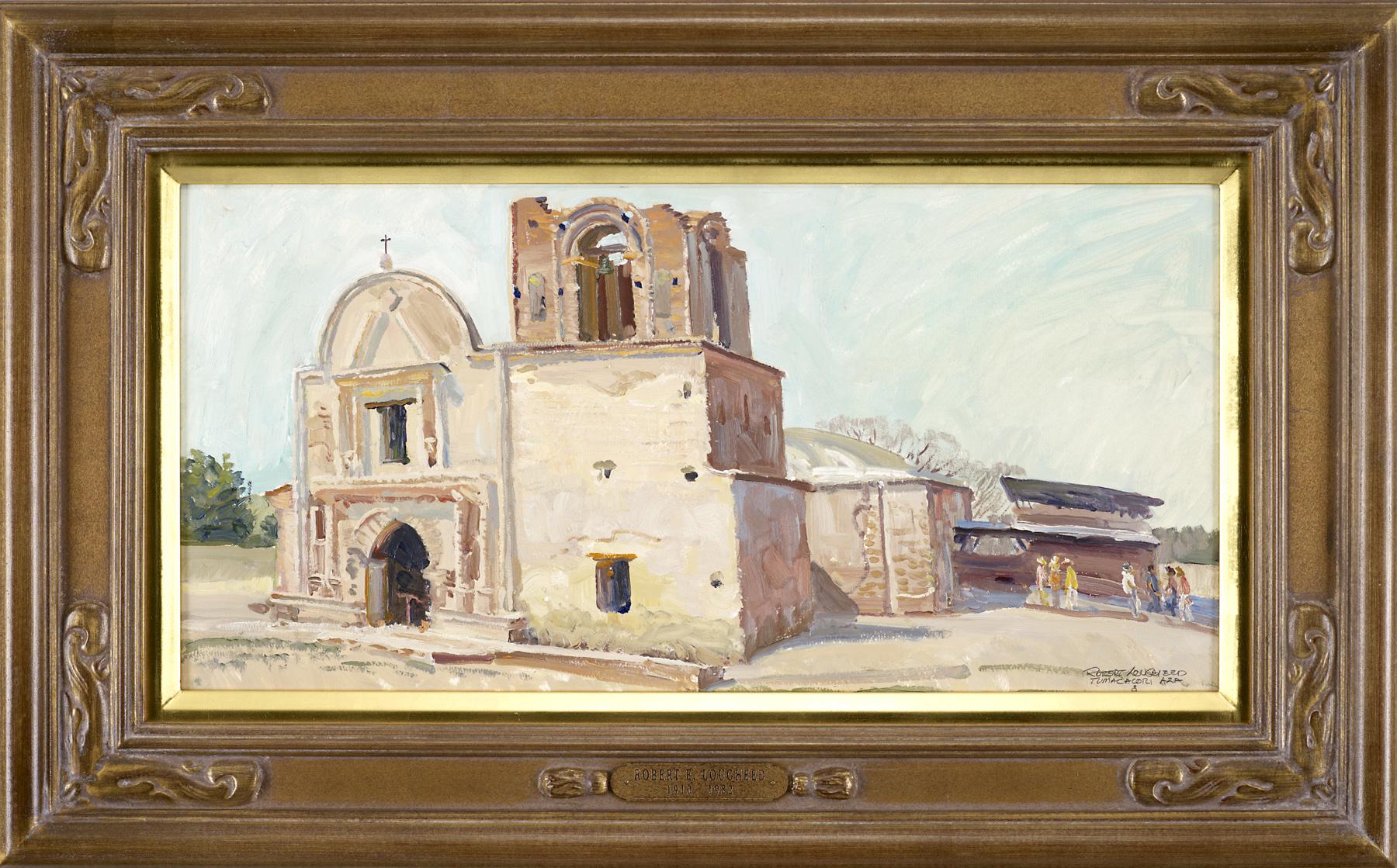 Tumacacori MIssion - ... by  Robert Lougheed - Masterpiece Online