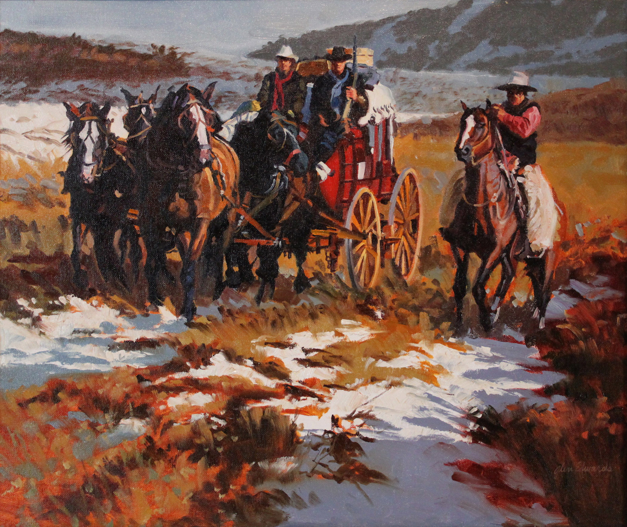 First Snow by  Glen Edwards - Masterpiece Online