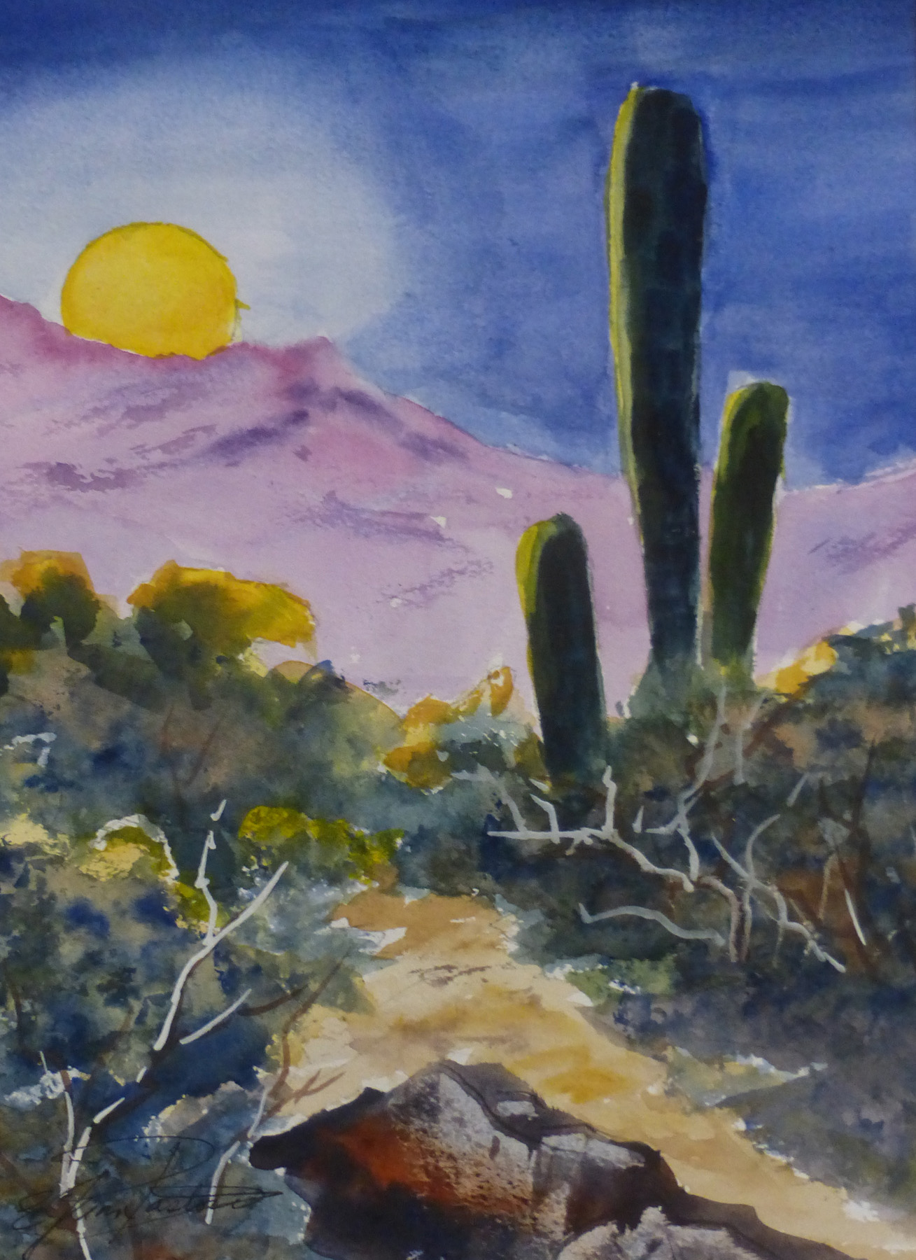 FULL MOON RISING by  Jean Pastore - Masterpiece Online