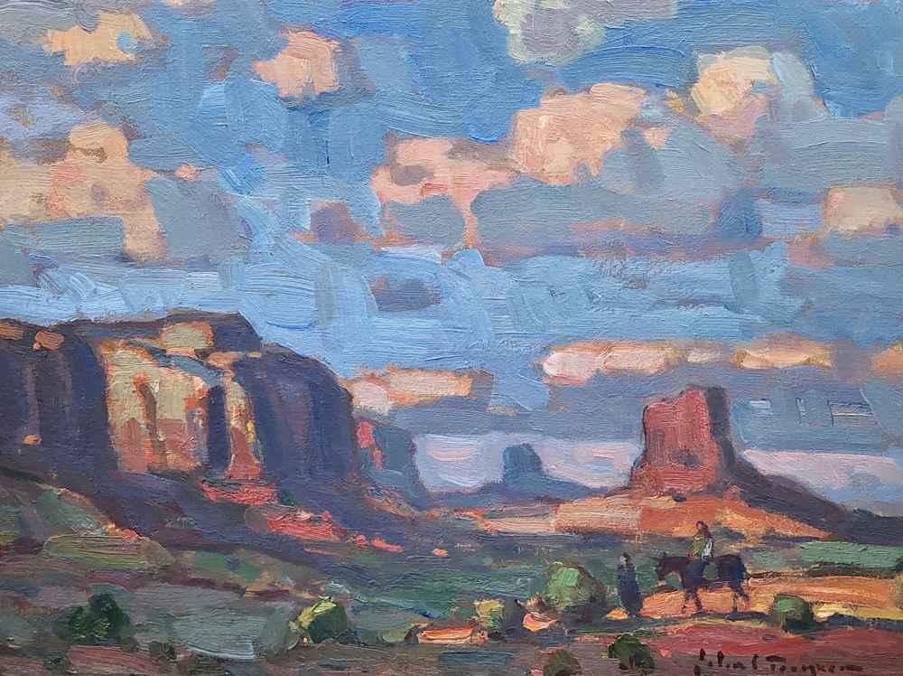 Evening Trek, Monumen...  by  John C Traynor