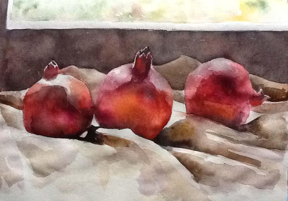 Pommegrantes by  Melissa Hefferlin - Masterpiece Online