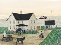 DAWDI HOUSE by  P. Buckley Moss  - Masterpiece Online