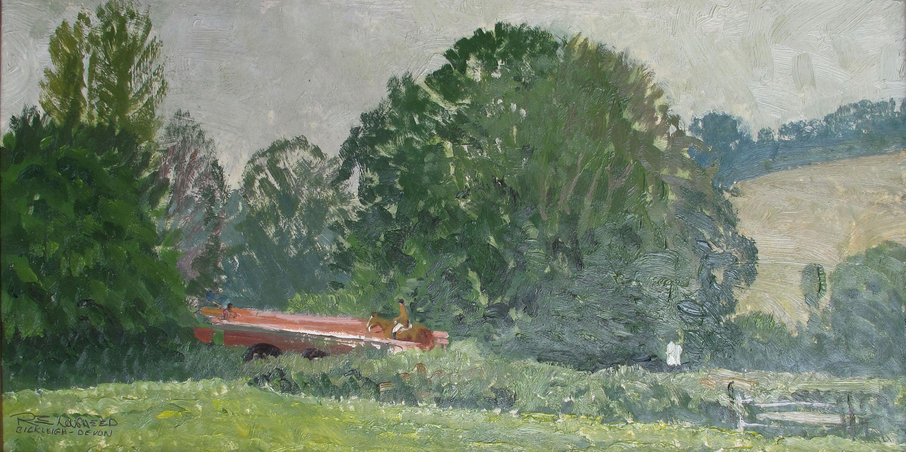 Bickleigh, Devon by  Robert Lougheed - Masterpiece Online