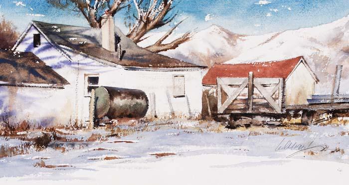 Spanish Ranch Cow Camp by Mr. William Matthews - Masterpiece Online