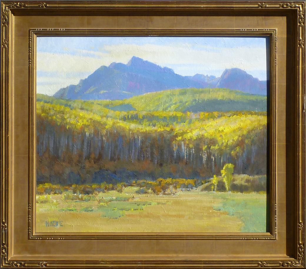 Backlit Aspens by Mr. Wayne Wolfe - Masterpiece Online