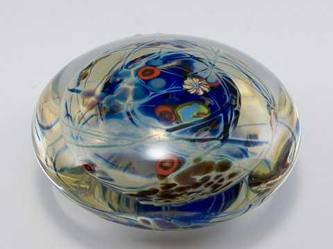 Paperweight/Cobalt by  Peter Andres & Chris Chapman - Masterpiece Online