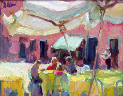 Shoppers at Rest by  Lindy  Duncan - Masterpiece Online