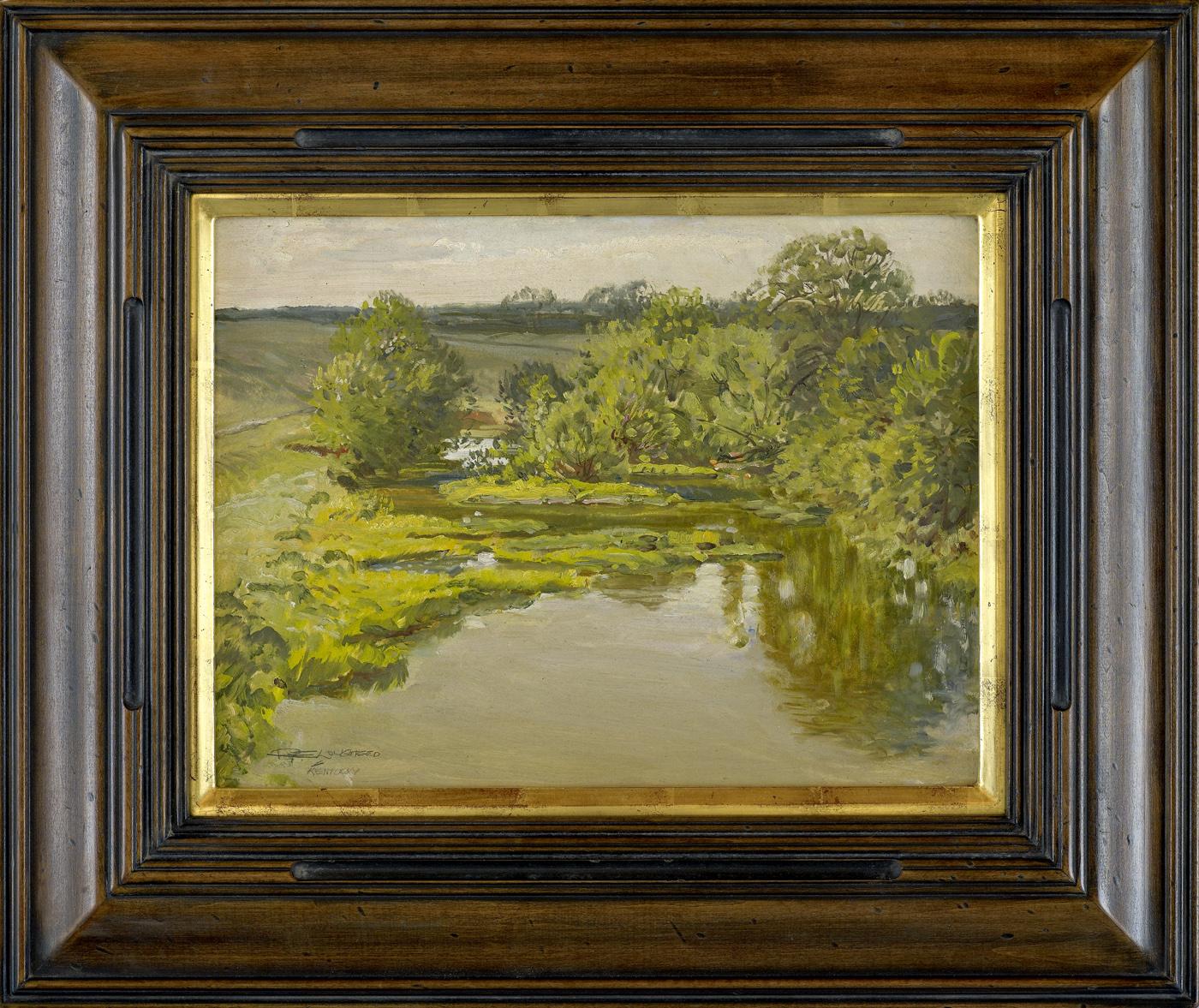 Pond & Trees - Mati H... by  Robert Lougheed - Masterpiece Online