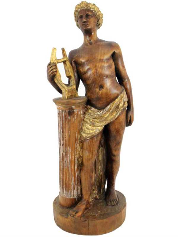 Carved Wood Figure by... by  Italian  - Masterpiece Online