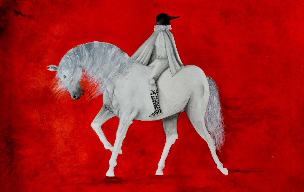 THE WHITE HORSE by Mr. ANTONIO GUERRERO - Masterpiece Online